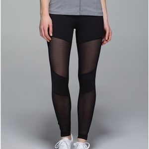 Lululemon Hot To Street Black Leggings